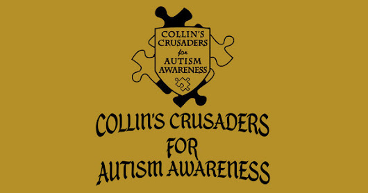 UMBRELLAS AVAILABLE FOR COLLIN'S CRUSADERS FOR AUTISM AWARENESS