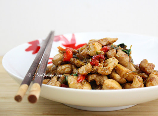 Takeout at Home: Thai Basil Chicken - cHow Divine...