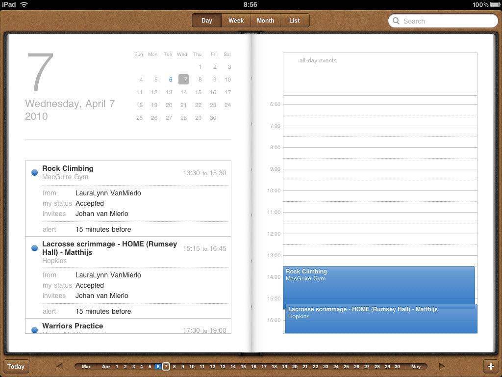 3 Great iPad Calendar Apps Small Biz Dad