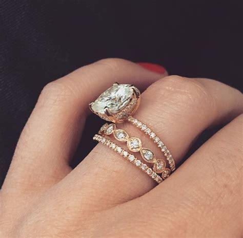 Best 25  Rose Gold Engagement Ring ideas on Pinterest