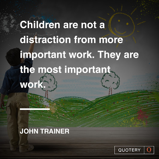 Parents and Teachers: Don't Get Distracted