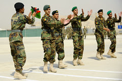 Afghan National Army NCO Graduation