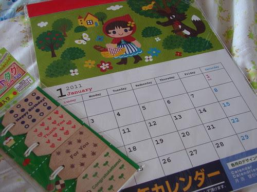 nursery rhyme calendar