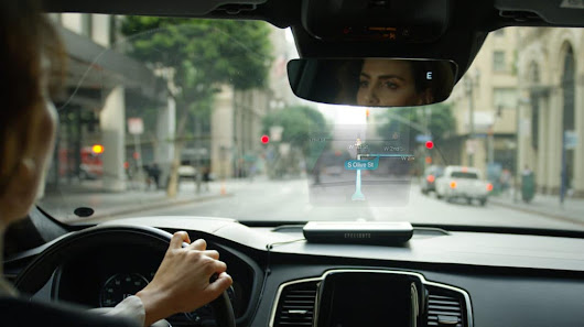 EyeDrive- Holographic Car Assistant - Inceptive Mind