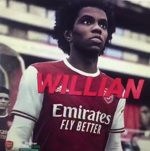 Willian transfer to Arsenal appears to be confirmed in leaked PES21 clip showing Chelsea star in Gunners kit
