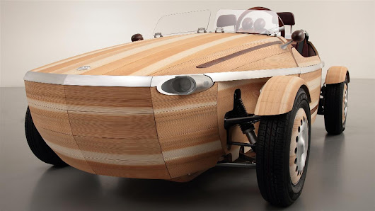 The Latest Toyota Is Made of Wood