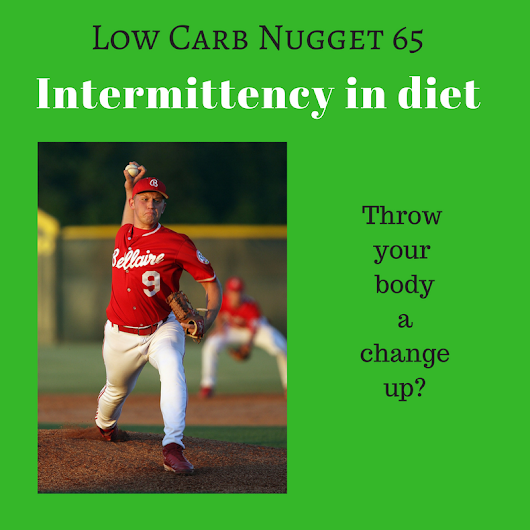 Intermittency in diet - Life After Carbs