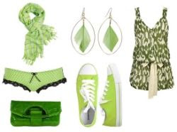 Absinthe green fashion