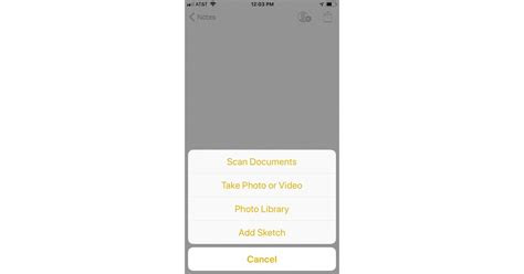 click scan documents   scan documents   iphone   notes app popsugar tech
