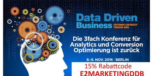 Data Driven Business Rabatt-Code 2016