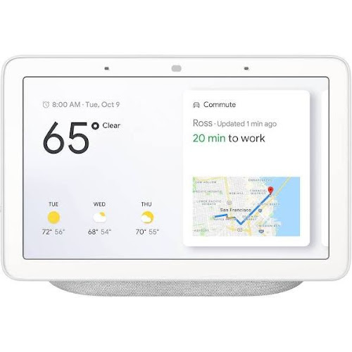 Google Home Hub Smart display - Wireless - Chalk