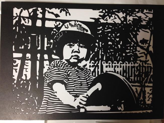 写真やイラストを切り絵にするサイトを作りました Taro Is Here