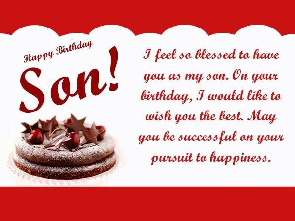 30 Birthday Quotes For Your Son Happy Birthday Son