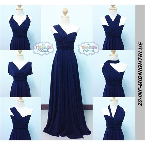 (MIDNIGHT BLUE) Infinity Dresses / Bridesmaid Dresses