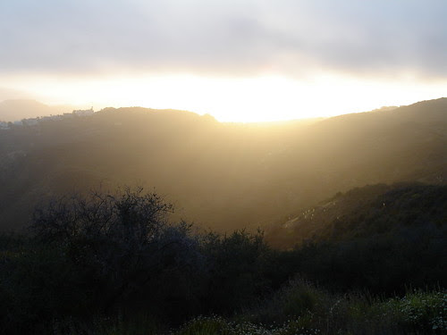 Top of the Trail - Temescal Canyon