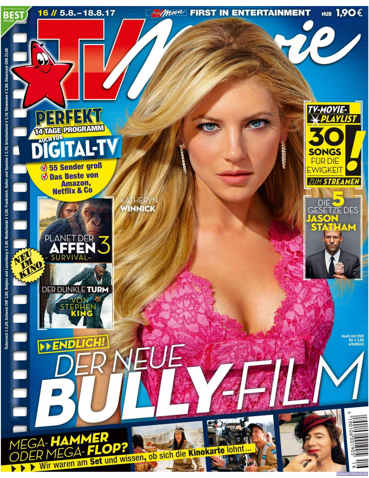 KATHERYN WINNICK in TV/Movie Magazine, 5th August 2017