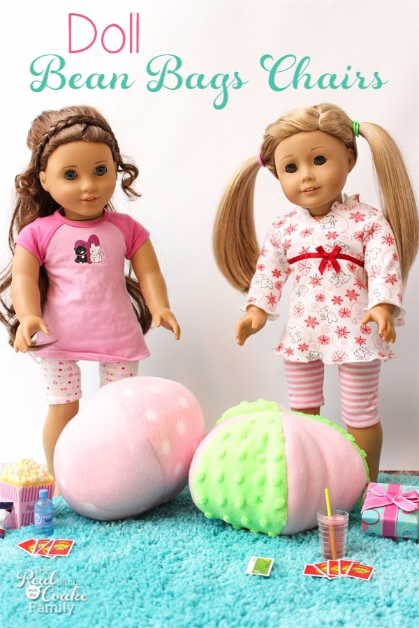 Doll Bean Bag Chair Sewing Pattern - The Real Thing with ...