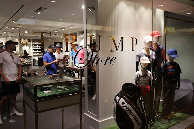 ¿Comprar americano?  Trump gana más de $ 1 millón en una tienda que vende productos con orígenes extranjeros desconocidos
