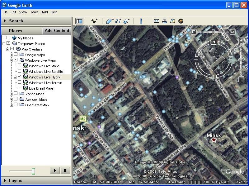 Google Live Maps
