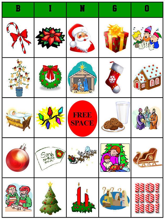 Printable Christmas Bingo Different Game Boards for by bigdandme