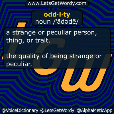 oddity 01/12/2016 GFX Definition