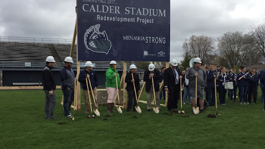 Calder Stadium breaks ground on new project