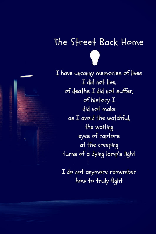 The Street Back Home – A Poem