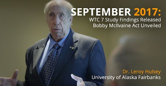 In Call For New 9/11 Probe, Expert To Deliver Major Free Webinar Sept. 6 On WTC Collapse Mystery