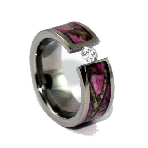 View Full Gallery of Lovely Cheap Camouflage Wedding Rings