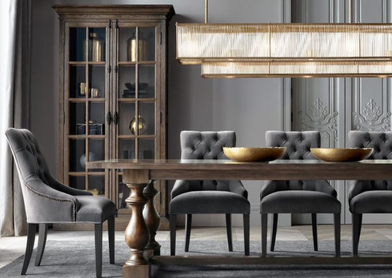 The Most Sophisticated Dining Room Furniture By Restoration Hardware Dining Room Ideas