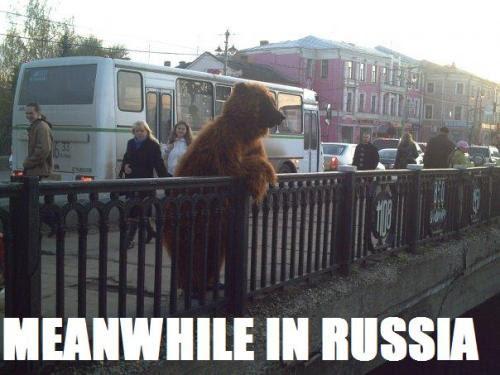 fuckyeahdementia:<br /><br />Meanwhile in Russia<br />swisserswatter:fybears:takkeh:sheerhippo:jonwithabullet