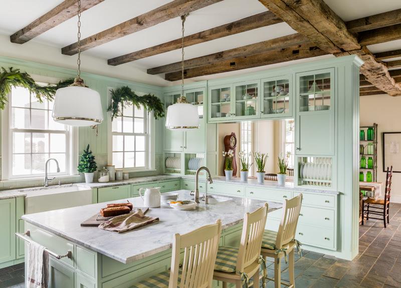 10 Ways to Add Farmhouse Charm to a New Kitchen Vintage