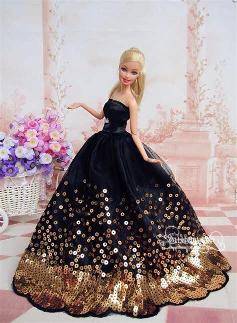 Barbie Bride dolls   New Black for barbie Wedding Dress