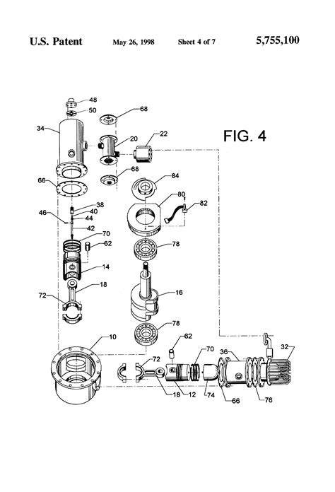 Patent US5755100 - Hermetically sealed stirling engine