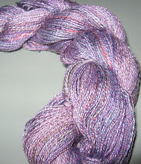 one skein (#2) of spindle silk