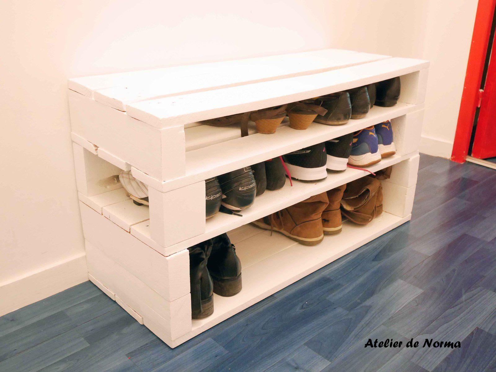 Construire Un Meuble À Chaussure schminkkoefferchen: 21 unique meuble a chaussure en bois de
