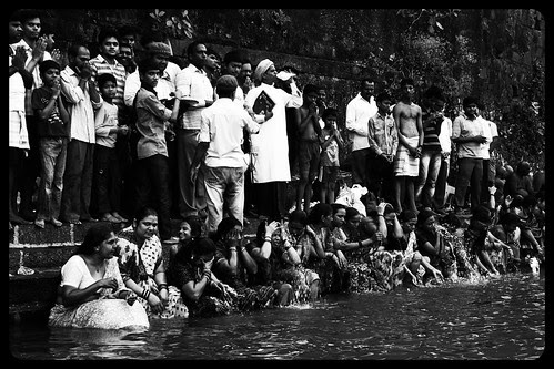 Swami Smarth Puja At Banganga Walkeshwar by firoze shakir photographerno1