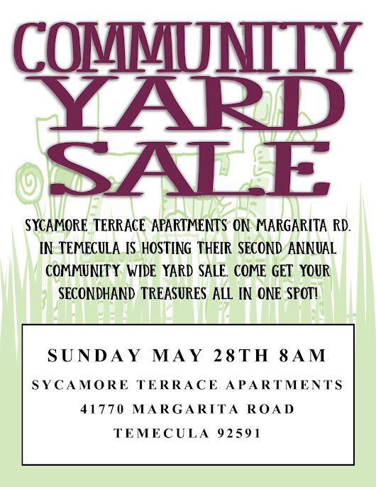 Sycamore Terrace Apartments Hosts Another Community-Wide Yard Sale
