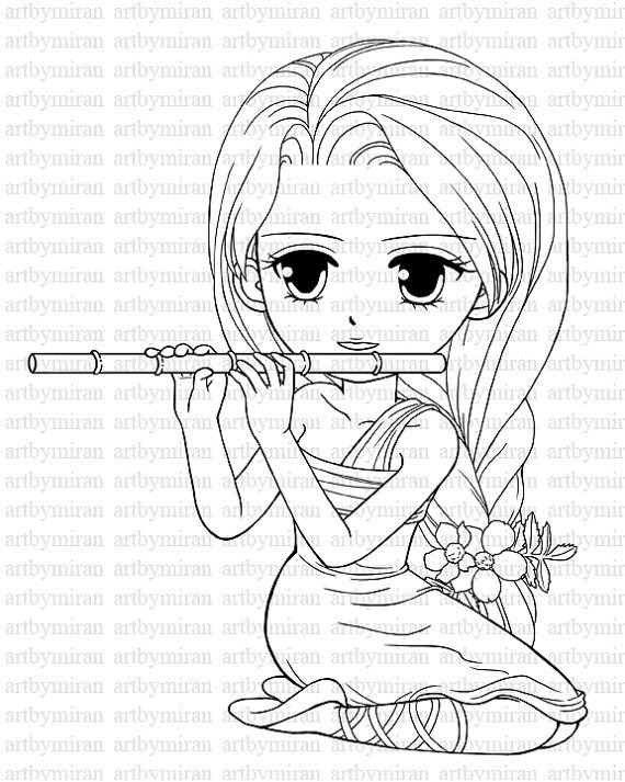570x713 Pretty Coloring Pages For Girls – Color Bros