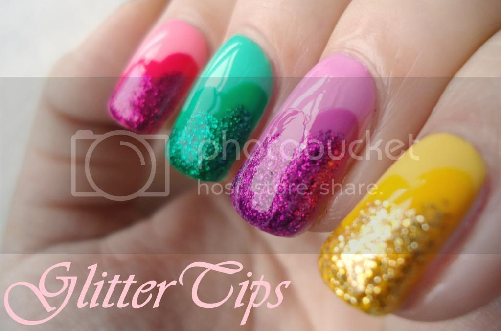 Not Too Polished: NEW 31 Day Challenge: Ombre/Skittle