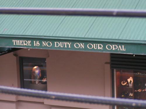 opal duty