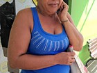 Mulher é feita refém por dupla na capital (Aline Nascimento/G1)