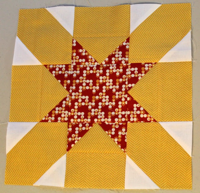 Starburst Cross Block #2