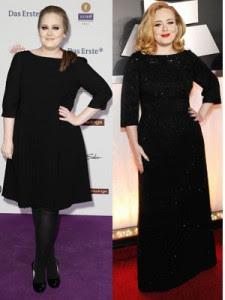 Adele drops three dress sizes!