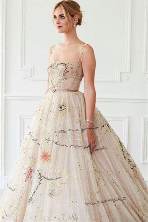 Chiara Ferragni's Second Wedding Dress Was Stitched With