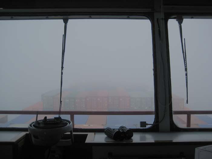 Foggy watch