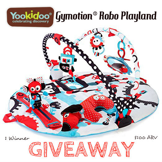 Yookidoo Gymotion® Robo Playland Giveaway! ($100 RV) ~ Ends 7/22 – Oh My Mommy