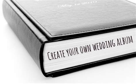 Create your own wedding album with Sweet Memory Albums
