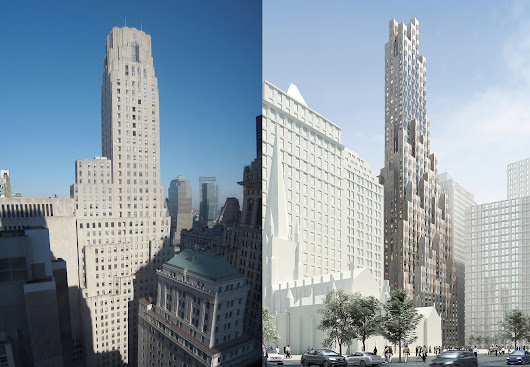 """New(er) York"" Imagines What New York's Historic Structures Would Look Like if Built Today"