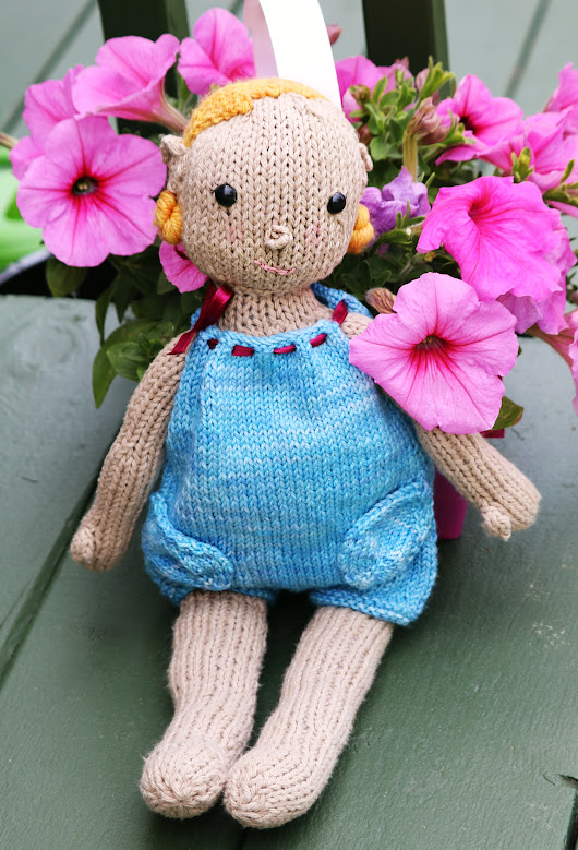 Finished Knit: Elf Doll - Knitted Bliss